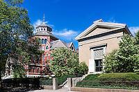Mencoff Hall, Population Studies and Training Center, Brown University, Providence, Rhode Island, USA