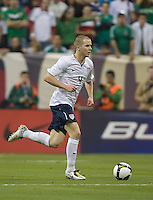 Michael Bradley.during an international friendly between the national teams of Mexico and the United States at Reliant Stadium in Houston, TX, USA, on February 6, 2008. USA tied Mexico 2-2.