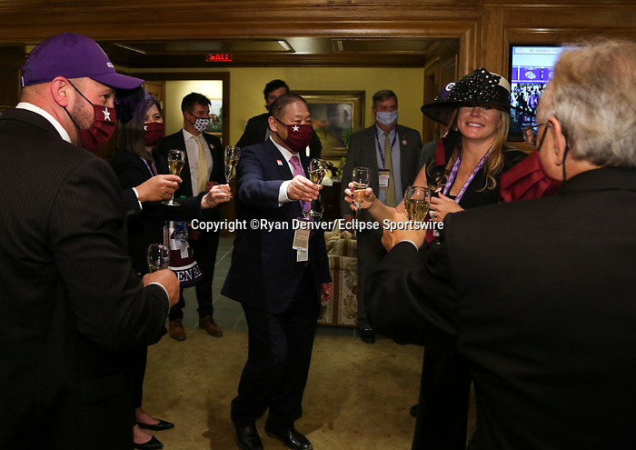 November 6, 2020 : Champion's Terrace after the Juvenile Turf Sprint on Breeders' Cup Championship Friday at Keeneland Race Course in Lexington, Kentucky on November 6, 2020. Ryan Denver/Eclipse Sportswire/Breeders' Cup/CSM