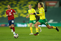 6th April 2021; Carrow Road, Norwich, Norfolk, England, English Football League Championship Football, Norwich versus Huddersfield Town; Todd Cantwell of Norwich City beaks forward on the ball