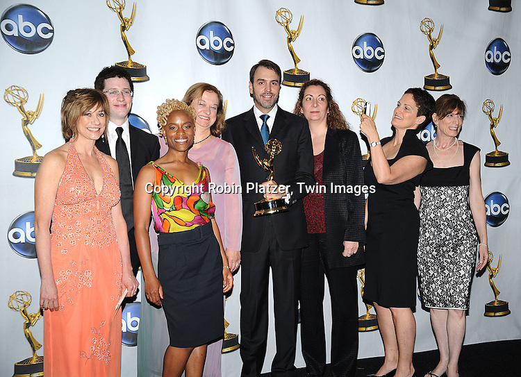 One Life to Live Writers, winners ..at The 35th Annual Daytime Entertainment Emmy Awards at The Kodak Theatre on June 20, 2008 in Hollywood California.....Robin Platzer, Twin Images