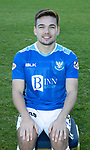 St Johnstone FC Photocall….2018/19 Season<br />Aaron Comrie<br />Picture by Graeme Hart.<br />Copyright Perthshire Picture Agency<br />Tel: 01738 623350  Mobile: 07990 594431
