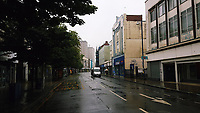 Pictured: The High Street, Swansea. Saturday 15 July 2017<br />