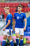 St Johnstone v Lask…26.08.21  McDiarmid Park    Europa Conference League Qualifier<br />Jamie McCart and Ali McCann<br />Picture by Graeme Hart.<br />Copyright Perthshire Picture Agency<br />Tel: 01738 623350  Mobile: 07990 594431
