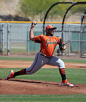Kervin Castro - San Francisco Giants 2019 extended spring training (Bill Mitchell)