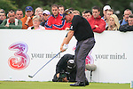 Darren Clarke tees on the 17th tee during Day 2 of the 3 Irish Open at the Killarney Golf & Fishing Club, 30th July 2010..(Picture Eoin Clarke/www.golffile.ie)