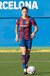 Liga IBERDROLA 2020-2021. Jornada: 10<br /> FC Barcelona vs Santa Teresa: 9-0.<br /> Maria Leon.