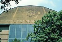 Peter Behrens A.E.G. Turbine Fabrik, Berlin 1908-09. Considered first industrial designer in history.