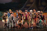 Peter Pan presented by Variety Children's Theater at Touhill in St. Louis, MO on Oct 24, 2013.