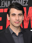 Nick Simmons  at The Warner Bros. Pictures L.A. Premiere of Getaway held at The Regency Village Theater in Westwood, California on August 26,2013                                                                   Copyright 2013 Hollywood Press Agency