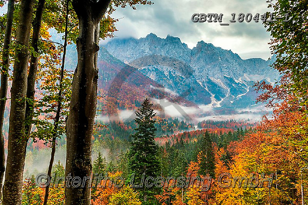 Tom Mackie, LANDSCAPES, LANDSCHAFTEN, PAISAJES, photos,+Europa, Europe, European, Slovenia, Tom Mackie, Triglav National Park, atmosphere, atmospheric, autumn, autumnal, color, colo+rful, colour, colourful, destination, destinations, dramatic outdoors, environment, environmental, fall, forest, horizontal,+horizontals, landscape, landscapes, mood, moody, mountain, mountainous, mountains, peace, peaceful, scenery, scenic, serene,+serenity, tourist attraction, tranquil, tranquility, travel, valley, wood, woodland,Europa, Europe, European, Slovenia, Tom M+,GBTM180441-1,#l#, EVERYDAY