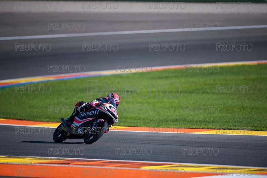 VALENCIA, SPAIN - NOVEMBER 8: Ana Carrasco during Valencia MotoGP 2015 at Ricardo Tormo Circuit on November 8, 2015 in Valencia, Spain