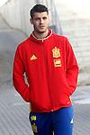 Alvaro Morata during Spanish national football team staff. March 21,2016. (ALTERPHOTOS/Acero)