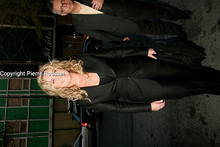 October 2005  File Photo - Nathalie Simard attend the Premiere of dicumentary Voleurs d'Enfance