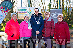 Operation Transformation 5k Walk: Pictured at the Operation Transformation 5K walk in Listowel town park on Saturday last were Patricia O'carroll, Kay Fitzgerald, Cllr. Jimmy Moloney, Mayor Listowel Municipal District, Anne Marie Costello & Bernie Donegan.