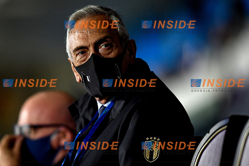 Italia football Federation president Gabriele Gravina during the friendly football match between Italy and Estonia at Artemio Franchi Stadium in Firenze (Italy), November, 11th 2020. Photo Andrea Staccioli/ Insidefoto