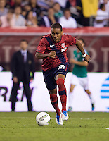 Juan Agudelo. The USMNT tied Mexico, 1-1, during their game at Lincoln Financial Field in Philadelphia, PA.