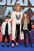 "Kate Garaway<br /> at the ""Guardians of the Galaxy 2"" premiere held at the Hammersmith Apollo, London. <br /> <br /> <br /> ©Ash Knotek  D3257  24/04/2017"