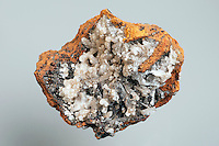 HEMIMORPHITE<br /> Orthorhombic Crystal Structure<br /> Hemimorphic zinc silicate associated with zinc and lead ores.
