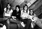 Runaways 1977 Sandy West, Joan Jett, Vicky Blue and Lita Ford