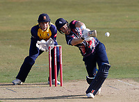 Sam Billings bats for Kent during Kent Spitfires vs Essex Eagles, Vitality Blast T20 Cricket at The Spitfire Ground on 18th September 2020