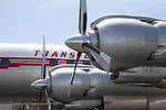 Seattle, Museum of Flight, Lockheed 1049G Super Constellation, historic airplanes and space craft, Boeing Field, Pacific Northwest,