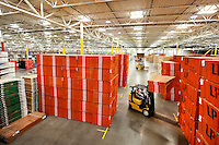 The 202,500-square-foot Centralia, Wash., Flatbed Distribution Center is not a showroom for the latest LED light fixtures or energy-saving appliances. Instead, it is a warehouse for basic building products such as lumber and plywood - yet the Centralia FDC has become the most efficient distribution center Lowe's has built.