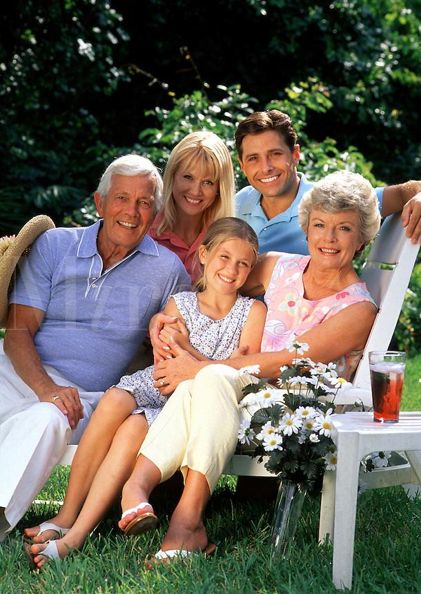 A 3 generation family portrait.
