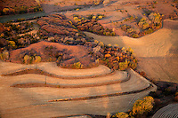 Aerial of Loess Hills, Monona County, Iowa