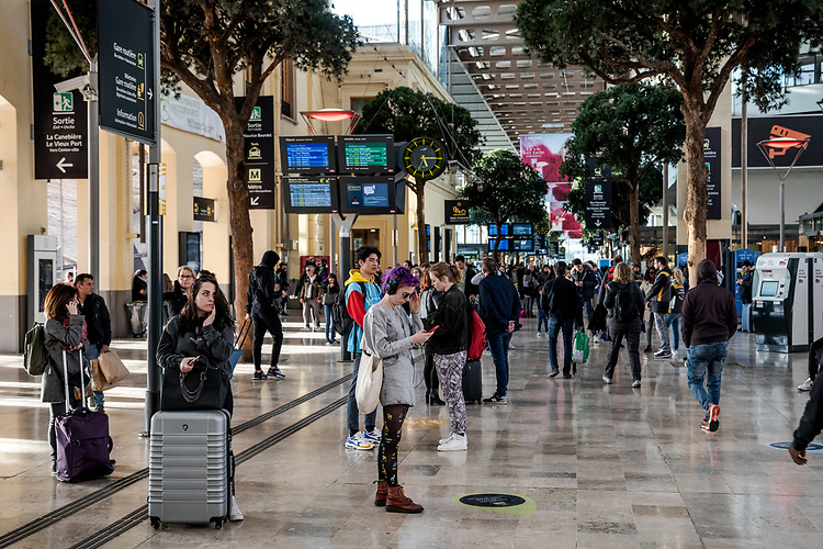 Gare SNCF Marseille Saint-Charles