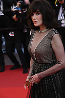 CANNES, FRANCE. July 10, 2021: Isabelle Adjani at the premiere of Peaceful (De Son Vivant) at the 74th Festival de Cannes.<br /> Picture: Paul Smith / Featureflash