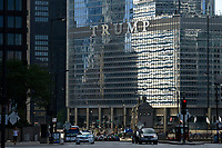 USA Chicago, downtown, skyscraper, Trump tower / Stadtzentrum mit Hochhaeusern