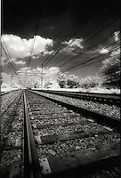 Railroad tracks<br />