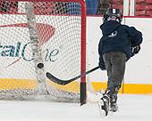 Michael Iacampo - The UConn Huskies practiced at Fenway on Friday, January 13, 2017, in Boston, Massachusetts.