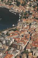 panorama di Como , lago di Como,