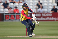 Will Buttleman hits 4 runs for Essex during Essex Eagles vs Sussex Sharks, Vitality Blast T20 Cricket at The Cloudfm County Ground on 15th June 2021