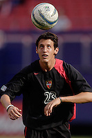 The MetroStars' Danilo da Silva during warmups. The MetroStars played D.C United to a 0 -0 tie at Giant's Stadium, East Rutherford, NJ, on June 12, 2005.