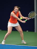 Hilversum, The Netherlands, March 12, 2016,  Tulip Tennis Center, NOVK, Mirjam Swarte (NED)<br /> Photo: Tennisimages/Henk Koster