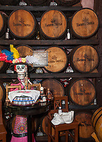 Tequila Museum, Playa del Carmen, Riviera Maya, Yucatan, Mexico.