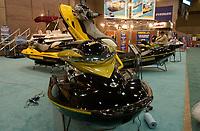 Sea Doo at Montreal Boat Show 2003,<br />  Motomarine au Salon Nautique de Montreal<br /> <br /> (c) : 2003, Images Distribution