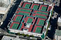 aerial photograph south of Market tennis club  San Francisco California