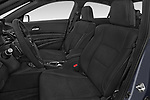 Front seat view of 2017 Acura ilx Tech Plus and A Spec Package 4 Door Sedan front seat car photos
