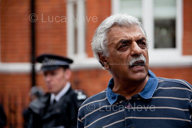 "Tariq Ali, British Pakistani military historian, novelist, journalist, filmmaker, public intellectual, political campaigner, activist and commentator.<br /> <br /> For more pictures on this event click here: <a href=""http://bit.ly/Pqmp6X""> http://bit.ly/Pqmp6X</a>"