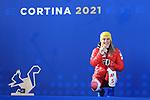 FIS Alpine World Ski Championships 2021 Cortina . Cortina d'Ampezzo, Italy on February 18, 2021. Women's Giant Slalom,  Katharina Liensberger (AUT)