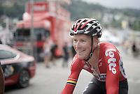 Lars Bak (DEN/Lotto-Soudal) after the finish<br /> <br /> Stage 18 (ITT) - Sallanches › Megève (17km)<br /> 103rd Tour de France 2016