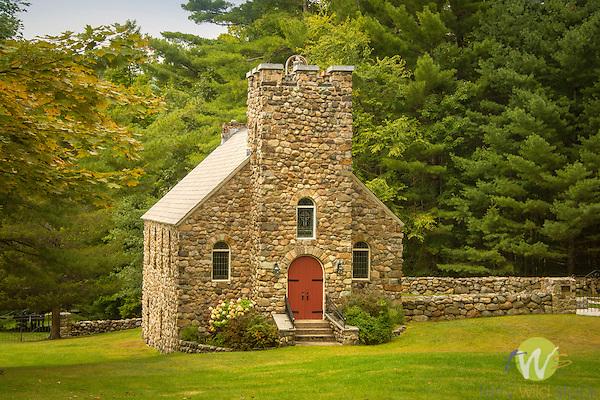 Mountain Grove Memorial Church. Non-Denominational 1816. Hulletts Landing, NY