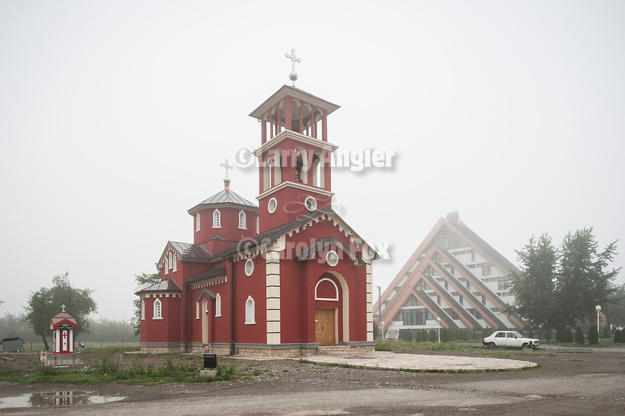 Red Serbian Orthodox church: Hristovo Rodgenje--Birth of Christ