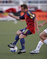 Real Salt Lake's Jason Kreis (9) in the Real Salt Lake 2-1 win over Kansas City Wizards at Rice Eccles Stadium in Salt Lake City, Utah May 20, 2006