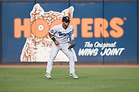 Tampa Tarpons outfielder Jasson Dominguez (20) during a game against the Lakeland Flying Tigers on July 15, 2021 at George M. Steinbrenner Field in Tampa, Florida.  (Mike Janes/Four Seam Images)