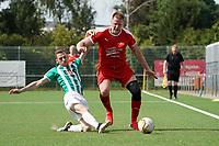 Sven Becker (Büttelborn) gegen Dylan Wejten (Groß-Gerau) - 15.08.2021 Büttelborn: SKV Büttelborn vs. VfR Groß-Gerau, Gruppenliga